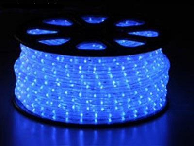světelný kabel Modrý