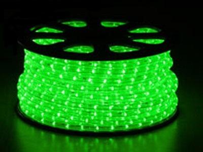 světelný kabel Zelený