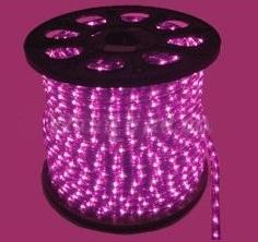 světelný kabel Fialový