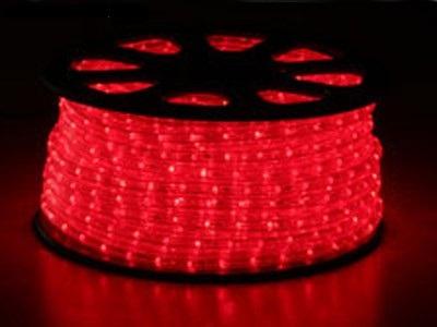 světelný kabel Rudý