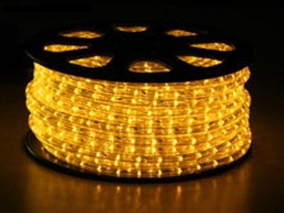 světelný kabel Žlutý