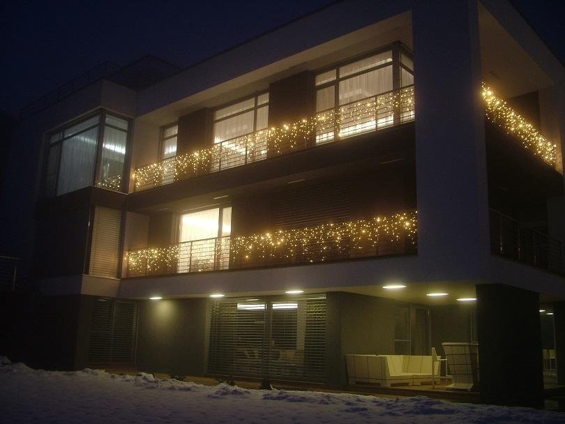 Ukázka exteriérovej výzdoby - Domu